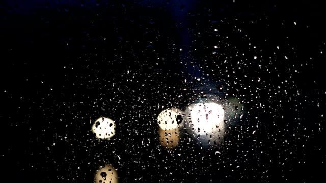 rush hour during rain - headlight stock videos & royalty-free footage