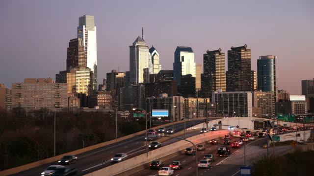 Rush Hour in Philadelphia, Pennsylvania