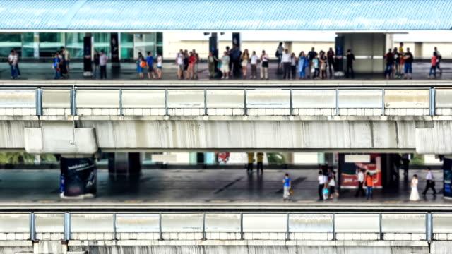 rush hour skytrain station