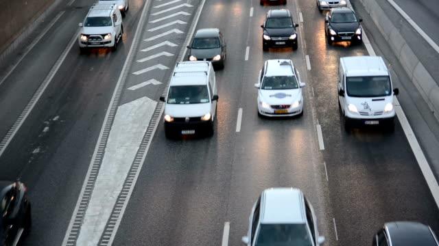 Rush Hour Traffic Close Up