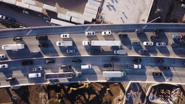 Rush hour traffic in Brooklyn