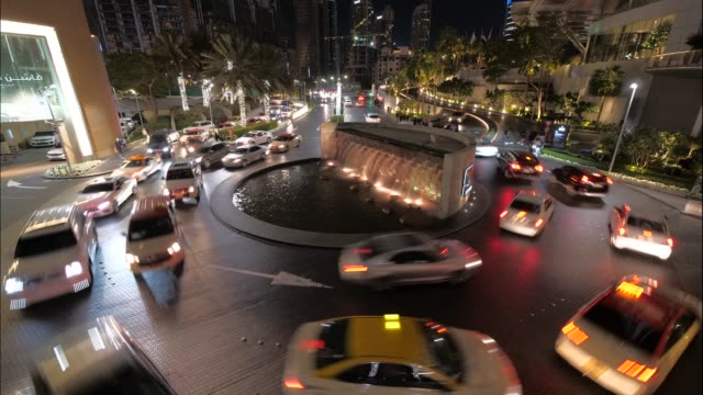 rush hour traffic jam in modern metropolis - middle east stock videos & royalty-free footage