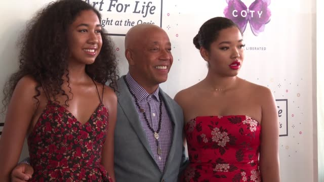 rush philanthropic arts foundation art for life benefit at fairview farms on july 15 2017 in water mill new york - russell simmons stock videos & royalty-free footage