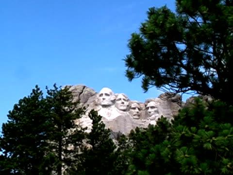 vidéos et rushes de rushmore arbre zoom - monument national du mont rushmore