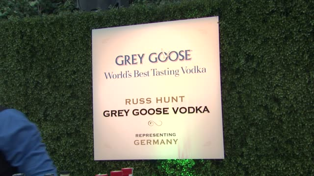 russ hunt at a taste of the world presented by breeders' cup grey goose vodka on 11/2/2012 in pasadena ca - grey goose vodka stock videos & royalty-free footage