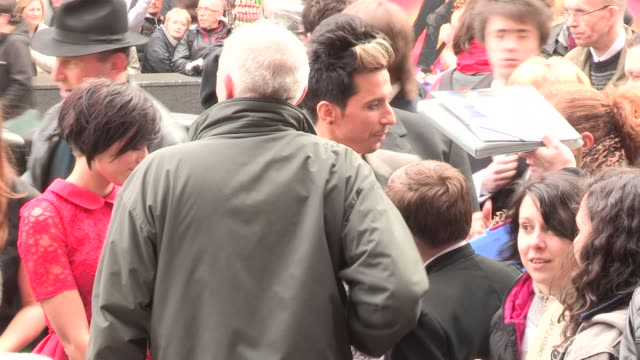russel kane at we will rock you - 10 year anniversary celebration at dominion theatre on may 14, 2012 in london, england - the dominion theatre stock videos & royalty-free footage