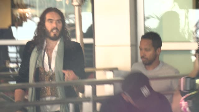 Russell Brand at Anna Karenina Premiere Presented By Focus Features on 11/14/12 in Los Angeles CA