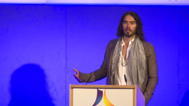 Russell Brand on recovery from addiction at the Launch of the AntiAddiction Initiative on the 12th of March 2013
