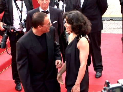 russell crowe and cate blanchett sashayed up the red carpet on wednesday as cannes kicked off a 12-day frenzy of star-studded premieres, parties and... - robin day stock videos & royalty-free footage