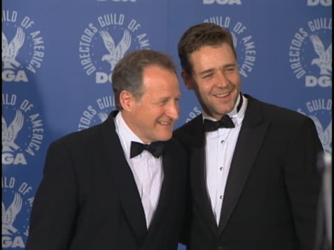 russell crowe at the dga awards at century city in century city, ca. - russell crowe stock videos & royalty-free footage
