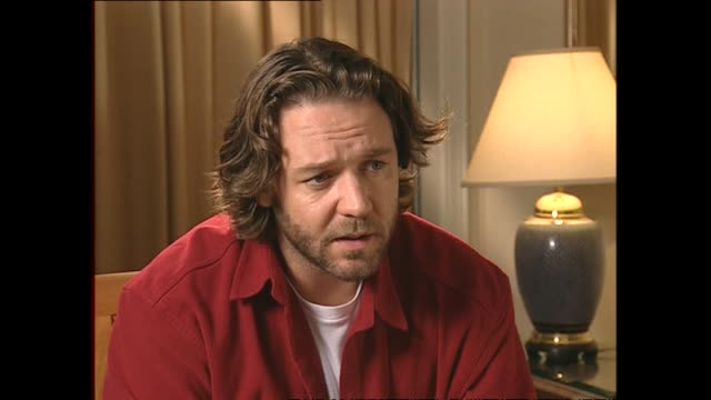 Russell Crowe speaking in 2002 about working with director Ron Howard on film A Beautiful Mind during interview with host Paul Holmes