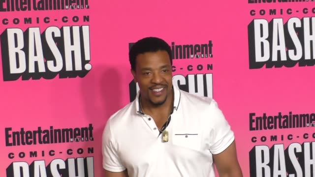 Russell Hornsby at the Entertainment Weekly San Diego Comic Con Party