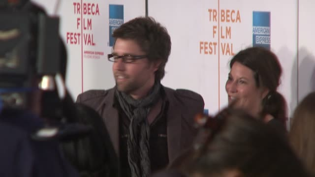 "russell schaumburg at the 7th annual tribeca film festival - ""tennessee"" premiere at borough of manhattan community college / tribeca performing arts... - community college stock videos & royalty-free footage"