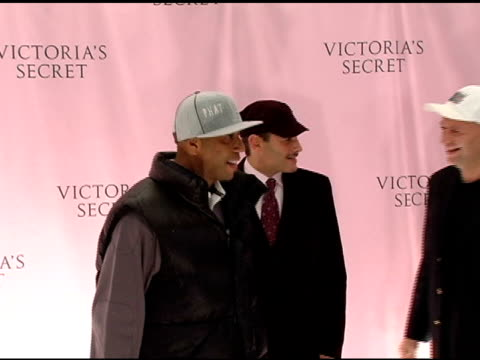 russell simmons and david goldenberg and guest at the 10th victoria's secret fashion show arrivals at the armory in new york, new york on november 9,... - russell simmons stock videos & royalty-free footage