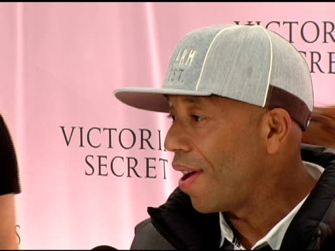 Russell Simmons at the 10th Victoria's Secret Fashion Show arrivals at the Armory in New York New York on November 9 2005