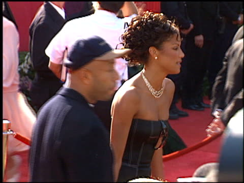 russell simmons at the 1996 academy awards arrivals at the shrine auditorium in los angeles, california on march 25, 1996. - russell simmons stock videos & royalty-free footage