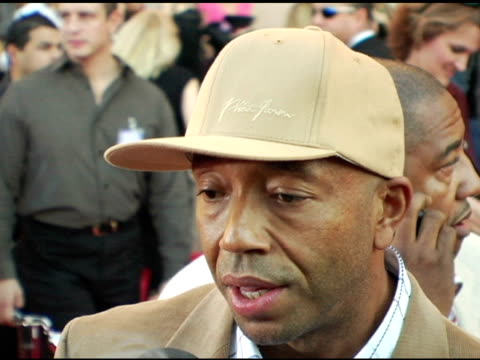 Russell Simmons at the 2004 American Music Awards Red Carpet at the Shrine Auditorium in Los Angeles California on November 14 2004