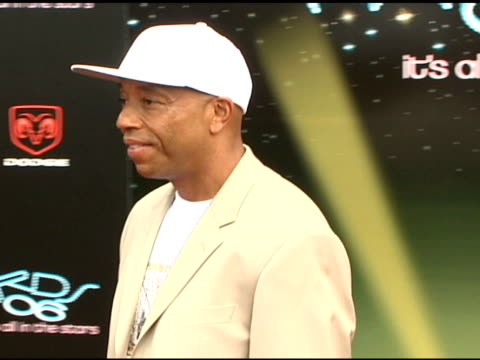vídeos y material grabado en eventos de stock de russell simmons at the 2006 bet awards arrivals at the shrine auditorium in los angeles california on june 27 2006 - russell simmons