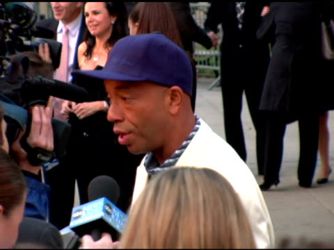russell simmons at the 2006 tribeca film festival vanity fair party at state supreme courthouse in new york new york on april 26 2006 - russell simmons stock videos & royalty-free footage