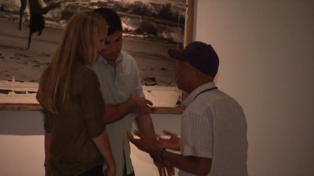 russell simmons at the 'culo by mazzucco' launch at new york ny. - russell simmons stock videos & royalty-free footage