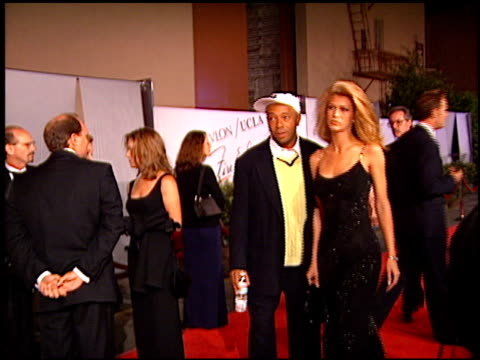 Russell Simmons at the Fire and Ice Ball at Warner Brothers Studios in Burbank California on October 17 1996