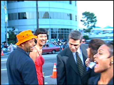 russell simmons at the 'men in black' premiere at the cinerama dome at arclight cinemas in hollywood, california on june 25, 1997. - russell simmons stock videos & royalty-free footage