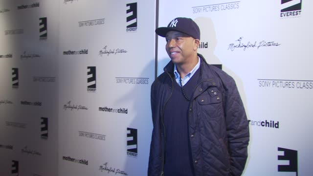 Russell Simmons at the 'Mother And Child' New York Premiere at New York NY