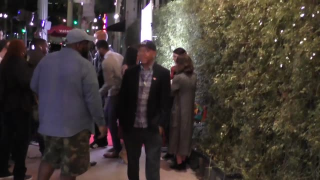 Russell Simmons outside BESO Restaurant in Hollywood in Celebrity Sightings in Los Angeles