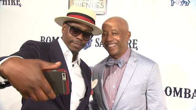 clean russell simmons rush philanthropic arts foundation to celebrate 20th anniversary at annual art for life benefit at fairview farms on july 18... - bridgehampton stock videos & royalty-free footage