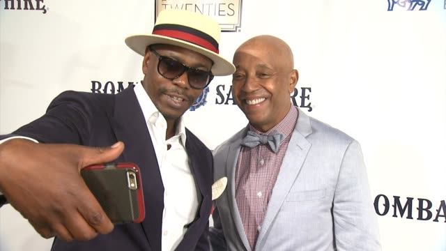 chyron russell simmons rush philanthropic arts foundation to celebrate 20th anniversary at annual art for life benefit at fairview farms on july 18... - bridgehampton stock videos & royalty-free footage