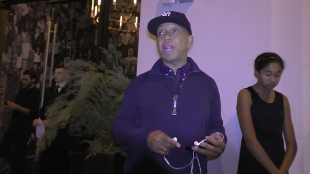 INTERVIEW Russell Simmons talks about why he thinks Donald Trump is a White Supremacist outside Catch Nightclub and Restaurant in West Hollywood...