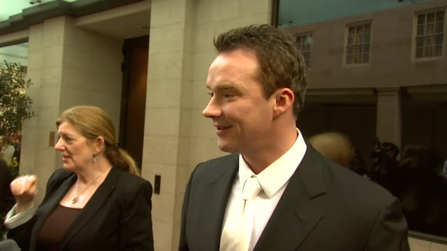 Russell Watson on what his new album is like on presenting an award at the 2010 Laurence Olivier Awards at London England