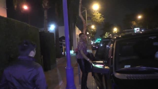 russell westbrook from the oklahoma city thunder celebrates his birthday at delilah in west hollywood at celebrity sightings in los angeles on... - oklahoma city thunder basketball team stock videos and b-roll footage