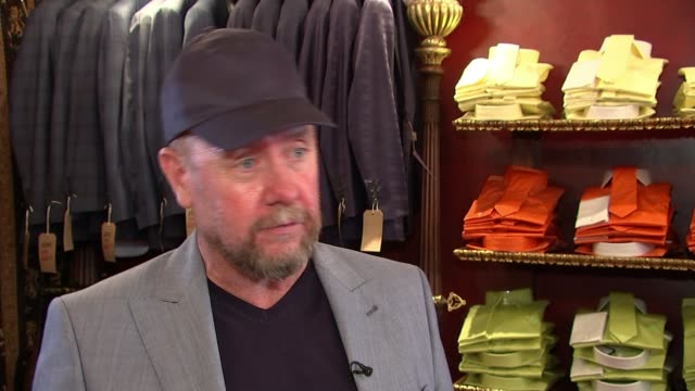 gareth southgate becomes fashion icon thanks to his trademark waistcoat england london savile row int william hunt interview sot row of waistcoats on... - international team soccer stock videos & royalty-free footage