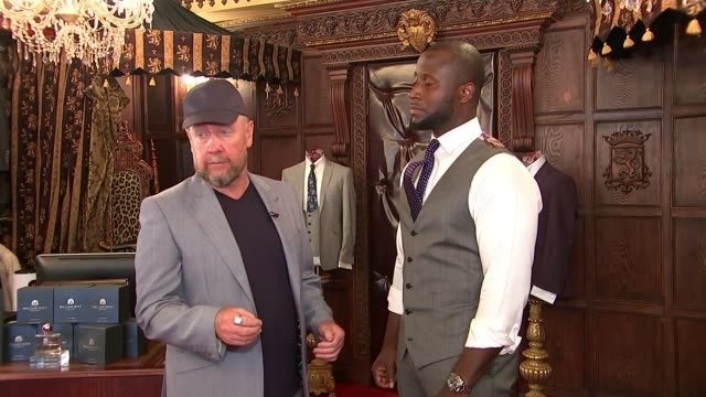 Gareth Southgate becomes fashion icon thanks to his trademark waistcoat ENGLAND London Savile Row INT William Hunt interview SOT Man wearing...