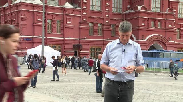 Russia 2018 World Cup is a coup for President Vladimir Putin RUSSIA Moscow Red Square General view Luzhniki Stadium Long shot Moscow International...
