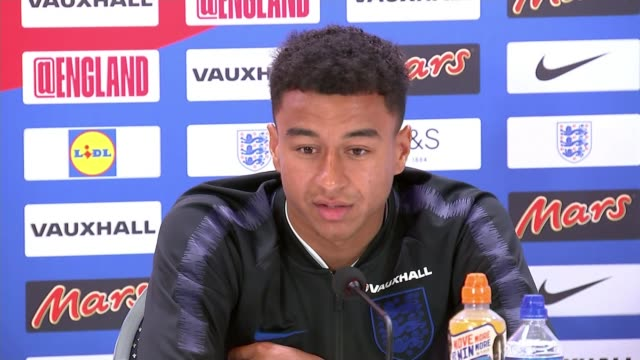 Jesse Lingard says England won't change their style for knockout matches Russia St Petersburg Repino Jesse Lingard press conference Harry Kane...