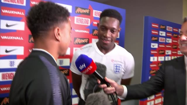 Jesse Lingard says England won't change their style for knockout matches RUSSIA St Petersburg Repino INT Danny Welbeck interview with Jesse Lingard...