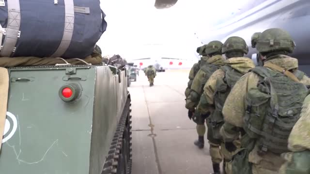 russia conducted a surprise combat readiness check in crimea amid escalating tensions in southeastern ukraine on thursday. defense minister sergey... - ukraine stock videos & royalty-free footage