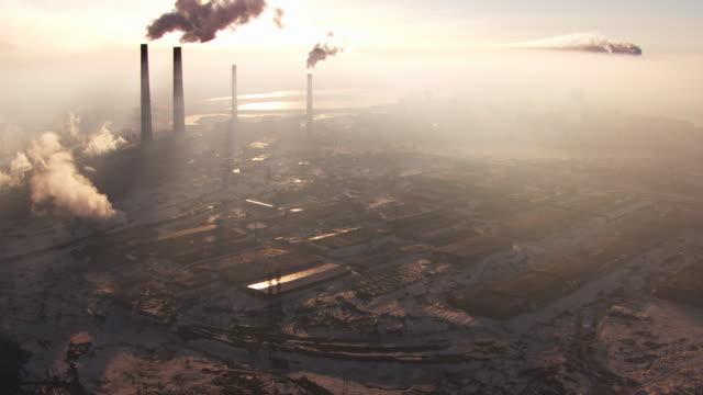 Russia : Industrial area in Norilsk