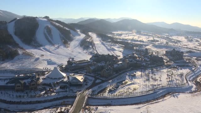 russia is banned from the 2018 winter games by the international olympic committee over its state orchestrated doping programme but clean russian... - südkorea stock-videos und b-roll-filmmaterial