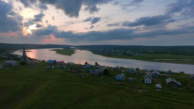 russia, kola peninsula, the river varzuga - russian culture stock videos & royalty-free footage