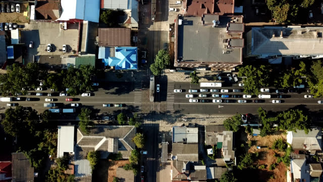 Russia Krasnodar Cityscape Street Aerial Road 4k High Res Stock Video Footage Getty Images