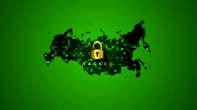 4K Karte Russlands und Hacking