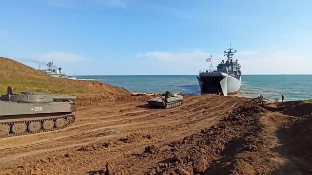 """russia started returning its troops from crimea and regions neighboring the ukrainian border on friday, according to an official statement. """"in... - ukraine stock videos & royalty-free footage"""
