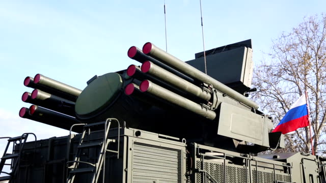 russian air defense system - russia stock videos & royalty-free footage