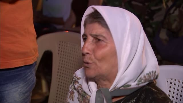 Putin urged just to target Islamic State militants Zaina Tayan interview SOT They took my last boy to serve in the army Reporter talking to woman Men...