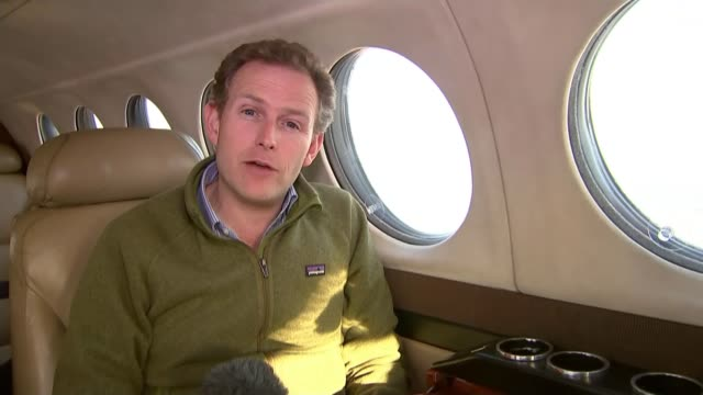 british tourists stranded over bomb fears reporter to camera - kogalymavia flug 9268 stock-videos und b-roll-filmmaterial