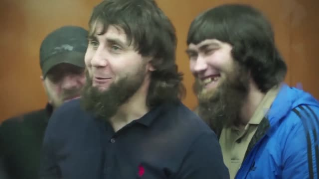 russian court hands lengthy jail terms to five chechen men convicted of the contract killing of kremlin critic boris nemtsov as his allies insist the... - critic stock videos & royalty-free footage
