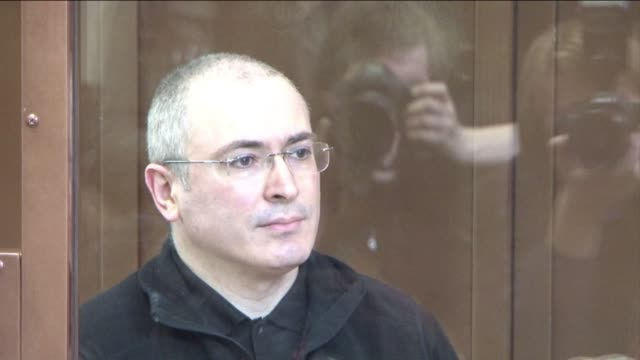 a russian court tuesday unexpectedly delayed the appeal hearing for exoil tycoon mikhail khodorkovsky against his conviction in a fraud trial that... - court hearing stock videos and b-roll footage